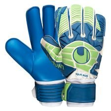 Uhlsport Keepershandschoenen Eliminator Aquasoft RF - Wit/Blauw/Groen