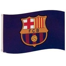Barcelona Flagga Logo - Blå