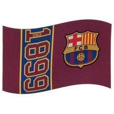 Barcelona Flagga Logo - Röd