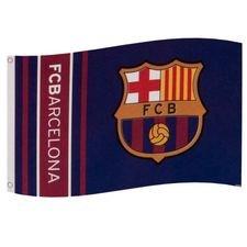 Barcelona Flagga - Blå