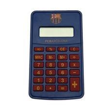 Image of   Barcelona Calculator - Blå/Rød