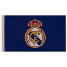 real madrid flag logo - blå - merchandise