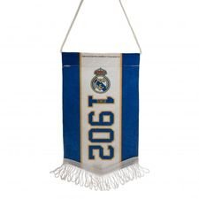 real madrid mini vimpel - blå/hvid - merchandise