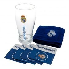real madrid mini bar sæt - blå - merchandise