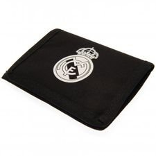 real madrid nylon portemonnee - zwart - merchandise
