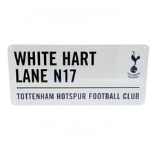 Tottenham Skylt White Hart Lane - Vit