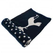 tottenham fleece tæppe - blå - merchandise