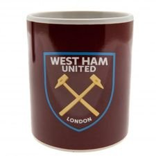 West Ham United Mugg - Röd