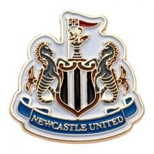 newcastle united pin badge - hvid - merchandise