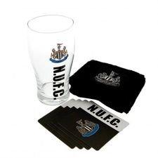 newcastle united mini bar set - svart - merchandise