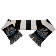 Newcastle United Halsduk - Svart/Vit