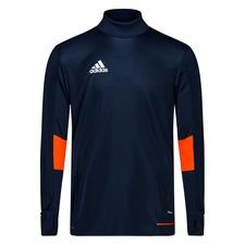 Image of   adidas Træningstrøje Tiro 17 - Navy/Orange