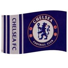 Chelsea Flagga - Blå/Vit