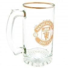 Manchester United Ölglas - Guld