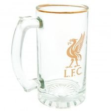 Liverpool Ölglas - Guld