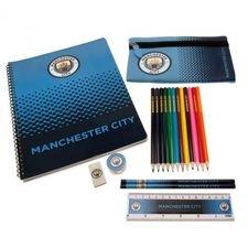 Manchester City Skolset - Blå