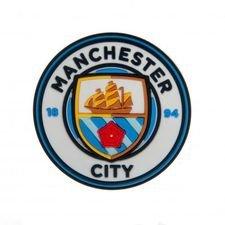 Manchester City Kylskåpsmagnet 3D - Blå/Vit