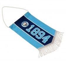 manchester city vimpel mini - blå/navy - merchandise