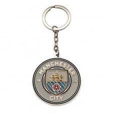 Manchester City Nyckelring - Blå