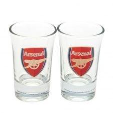 Arsenal Shotglas 2-Pack - Röd