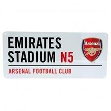Arsenal Skylt Emirates Stadium - Vit
