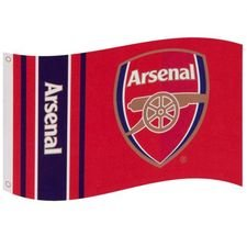 Arsenal Flagga - Röd/Vit