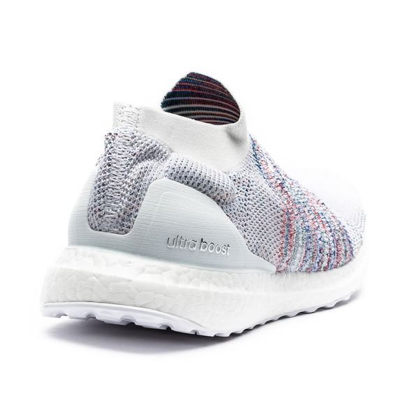 special section new styles outlet online adidas Ultra Boost Laceless - Weiß/Rot/Grün