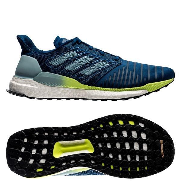 adidas boost blauw
