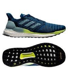 adidas solar boost - blå/grøn/gul - sneakers