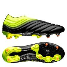 adidas copa 19+ fg/ag exhibit - core black/solar yellow - football boots