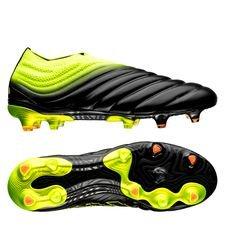 adidas copa 19+ fg/ag exhibit - noir/jaune - chaussures de football