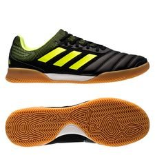 adidas Copa 19.3 IN Exhibit - Svart/Gul