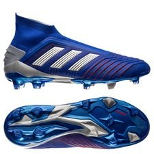 adidas Predator 19+ FG/AG Boost Exhibit - Bold Blue/Silver Metallic/Action Red