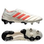 adidas Copa 19.1 FG/AG Initiator - Wit/Rood