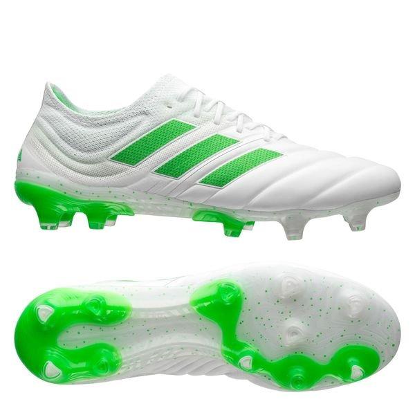 0c46a4017 adidas Copa 19.1 FG/AG Virtuso - Footwear White/Solar Lime |  www.unisportstore.com