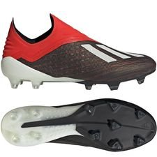 adidas X 18+ FG/AG Initiator - Zwart/Wit/Rood PRE-ORDER