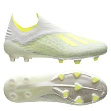 adidas X 18+ FG/AG Virtuso - Footwear White/Solar Yellow