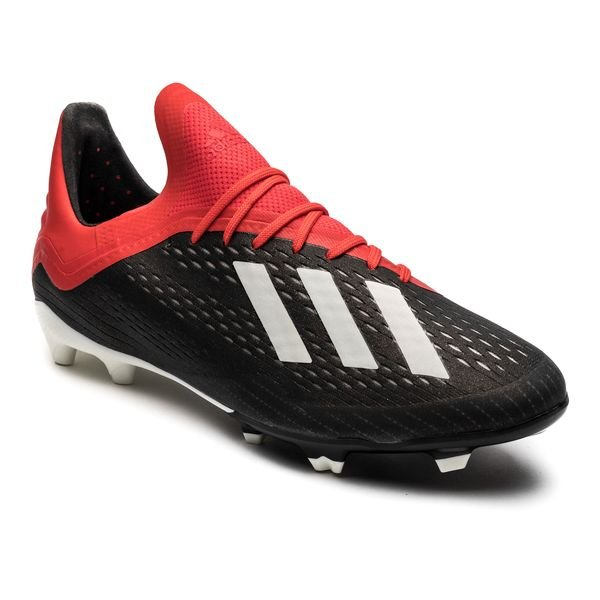 promo code 658f1 d44a2 adidas X 18.1 FG AG Initiator - Core Black Footwear White Action Red