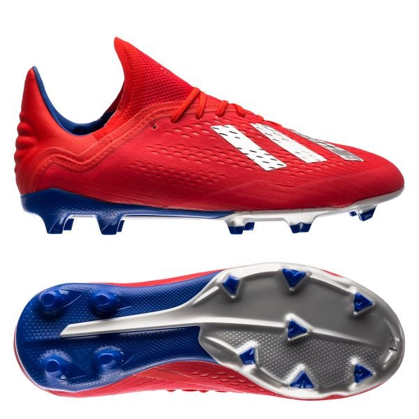 2cf4057e0 €99.95. Price is incl. 19% VAT. -50%. adidas X 18.1 FG/AG Exhibit - Action  Red/Silver Metallic/Bold Blue