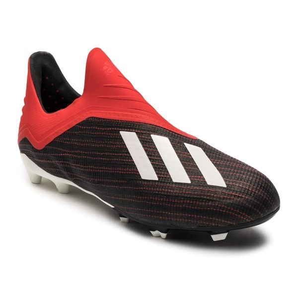 brand new 0de1f a952d ... adidas x 18+ fgag initiator - zwartwitrood kinderen ...
