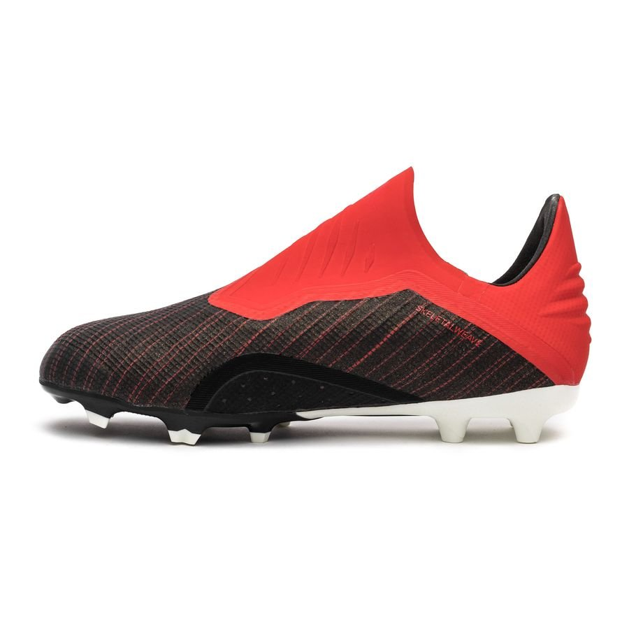 3d4de9aa67a2 adidas X 18+ FG AG Initiator - Core Black Footwear White Action Red ...