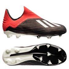adidas X 18+ FG AG Initiator - Musta Valkoinen Punainen Lapset 706ad23d15
