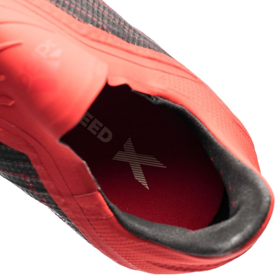 5298d6943d897f adidas X 18+ FG AG Initiator - Core Black Footwear White Action Red ...