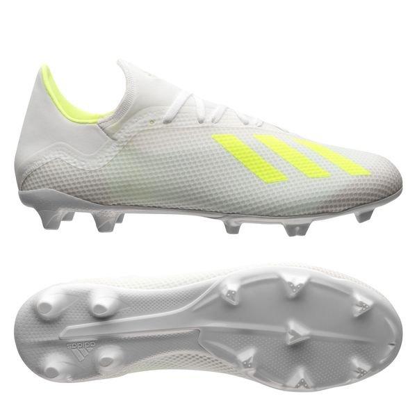 online store a566e 19424 adidas X 18.3 FG/AG Virtuso - Footwear White/Solar Yellow