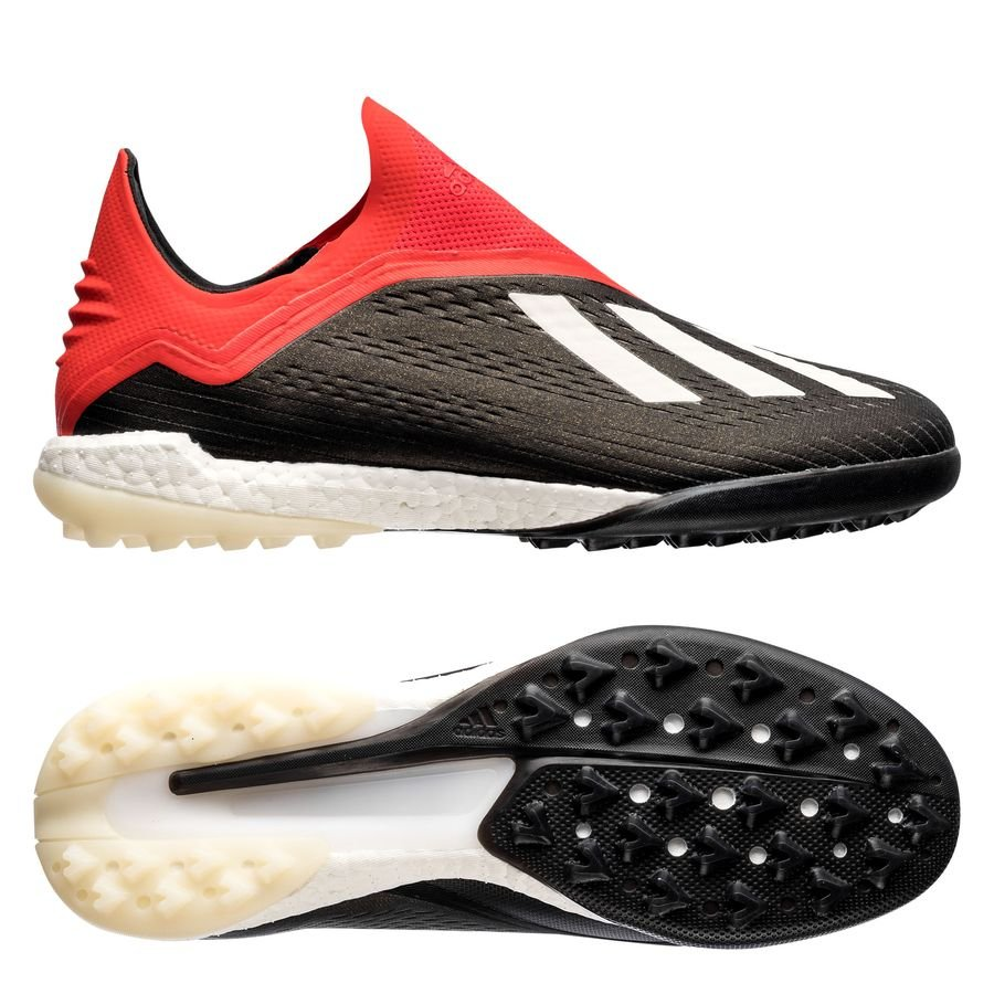 a575dce03be0 adidas X Tango 18+ TF Boost Initiator - Core Black Footwear White Action  Red