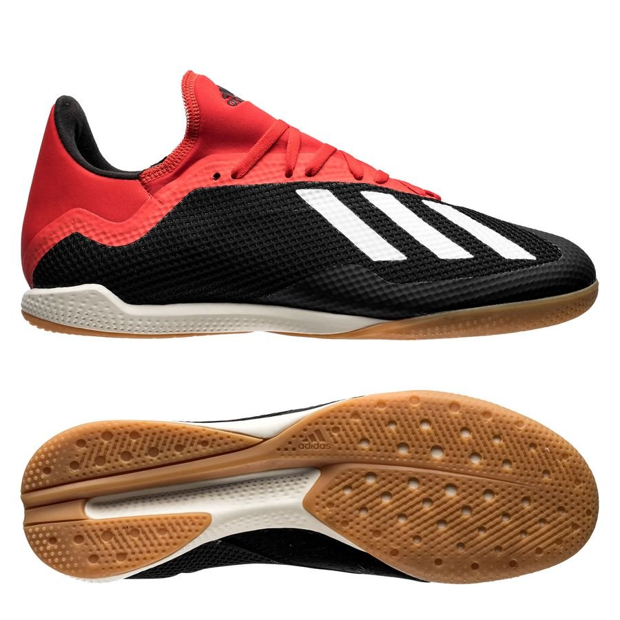 outlet store af8cf c83f2 adidas X Tango 18.3 IN Initiator - Core Black/Off White/Action Red