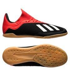 adidas X Tango 18.3 IN Initiator - Zwart/Wit/Rood Kinderen