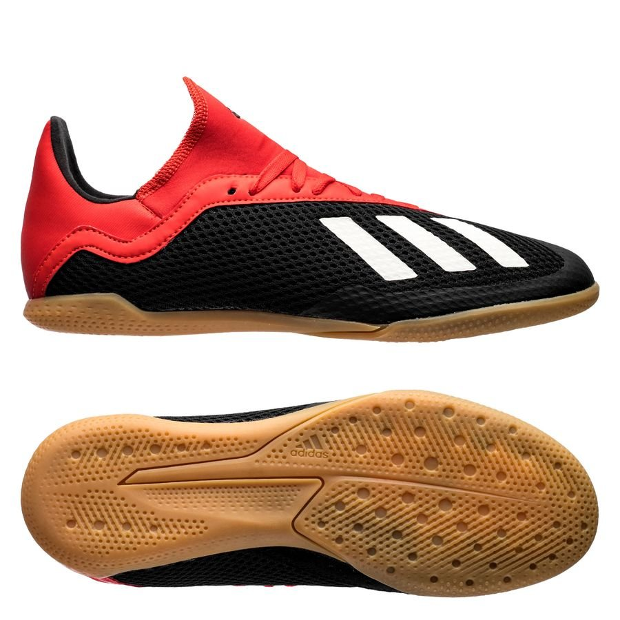 quality design b563f dae28 adidas X Tango 18.3 IN Initiator - Core Black/Off White/Action Red Kids
