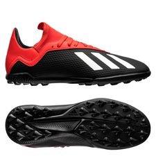adidas X Tango 18.3 TF Initiator - Svart/Vit/Röd Barn