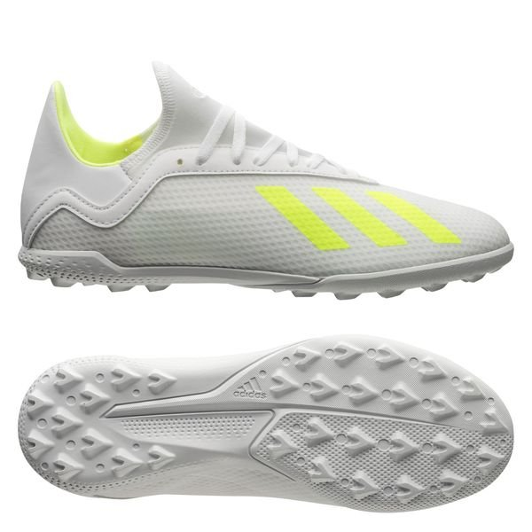 on sale 37374 f0708 adidas X Tango 18.3 TF Virtuso - Footwear White/Solar Yellow Kids